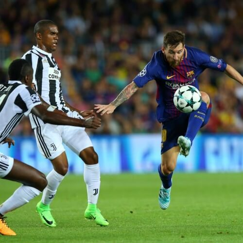 FC Barcelona defeated Juventus 3-0