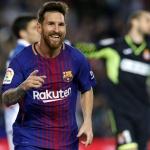 FC Barcelona's superstar Lionel Messi