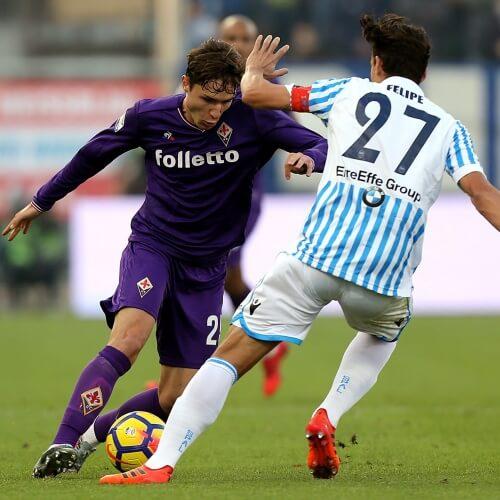 Fiorentina tied with Lazio