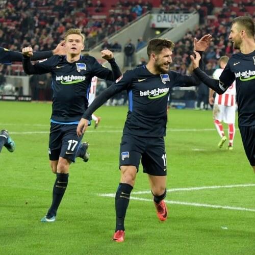Hertha burned FC Koln 2-0