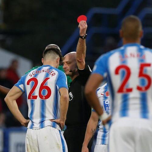 Huddersfield Schindler's penalty