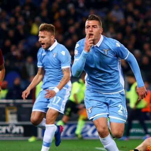 Lazio loss the Derby della Capitale