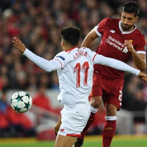 Liverpool tied against Sevilla UCL
