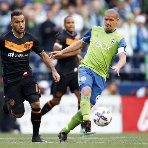 Seattle Sounders v Houston Dynamo MLS 2017