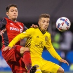 Toronto FC tied with Columbus Crew