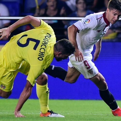 Villareal was defeated by Sevilla 2-3