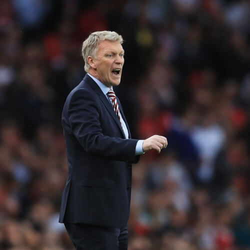 West Ham United's manager David Moyes