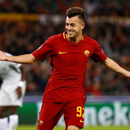 Europa League player El Shaarawy