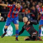 Crystal Palace beaten by Arsenal 2-3