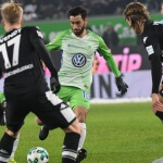 Gladbach loss to Wolfsburg 0-3
