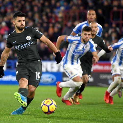 Man City's Sergio Agüero