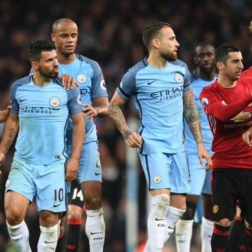 Manchester Derby, Man City v Man United 2017