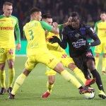 OGC Nice defeated FC Nantes 2-1