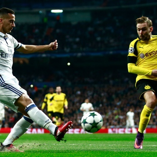 Real Madrid defeated Dortmund 3-1