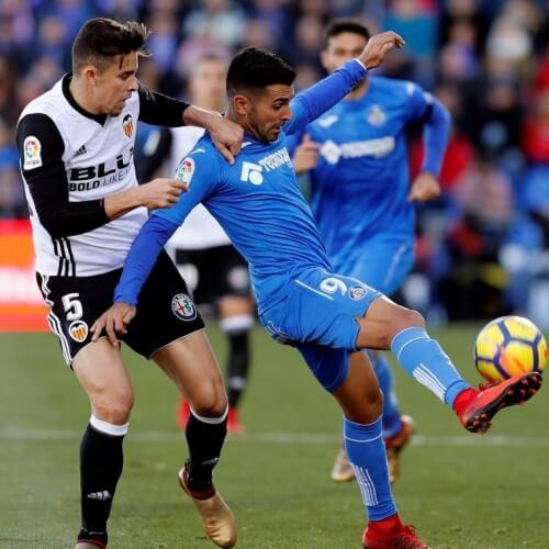Valencia defeated Celta Vigo 2-1