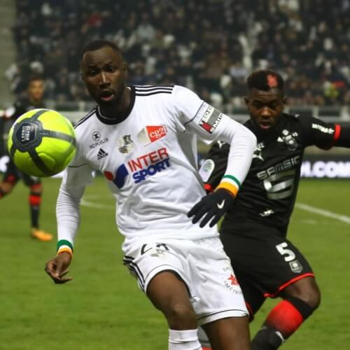 Amiens-Rennes at 0-2