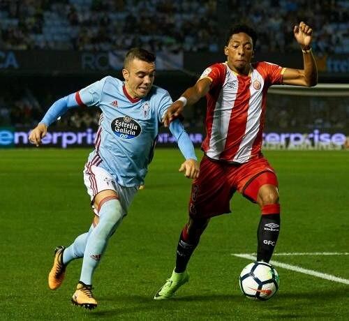 Girona during La liga