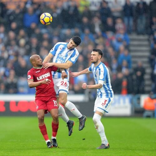 Huddersfield and Sawnsea clash