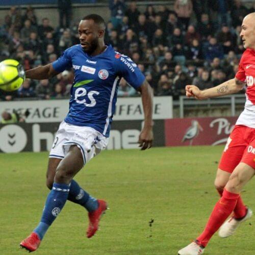 Strasbourg loses to Monaco