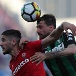 Fiorentina against Sassuolo