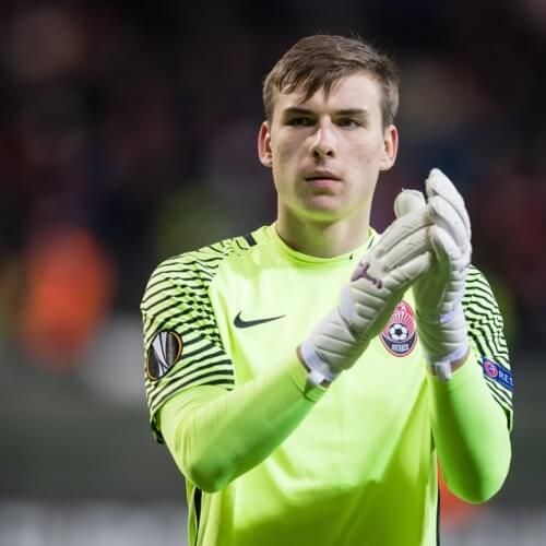 Player Feature Andriy Lunin