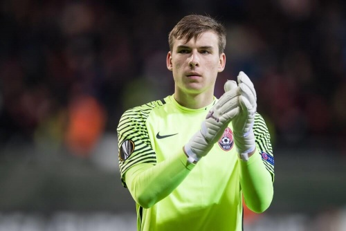 Lunin Player Sought-after Ukranian Goalkeeper Feature: Andriy