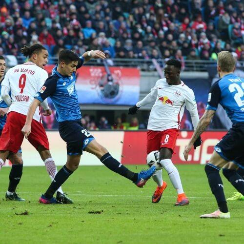 Hoffenheim against Leipzig