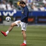 LA Galaxy's Zaltan Ibrahimovic