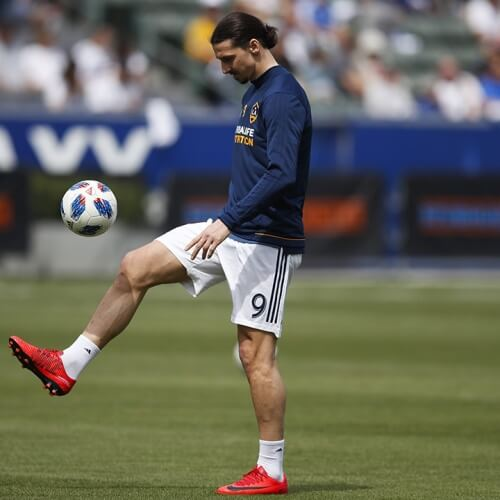 LA Galaxy's Zaltan Ibrahimovic