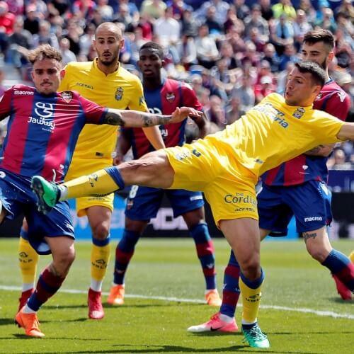 Levante midfielder Jose Campaña