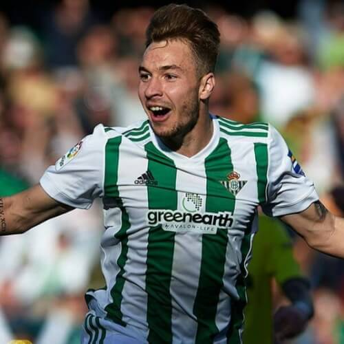 Loren of Real Betis