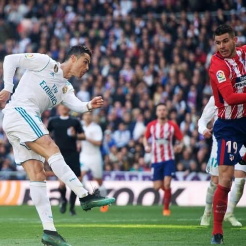 Real Madrid versus Atletico