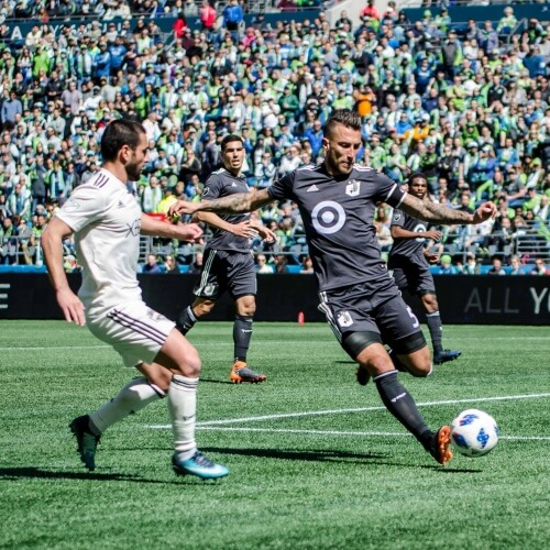 Seattle versus Minnesota United