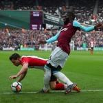 West Ham plays Stoke