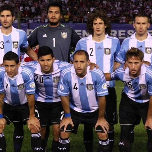 Argentina's provisional squad