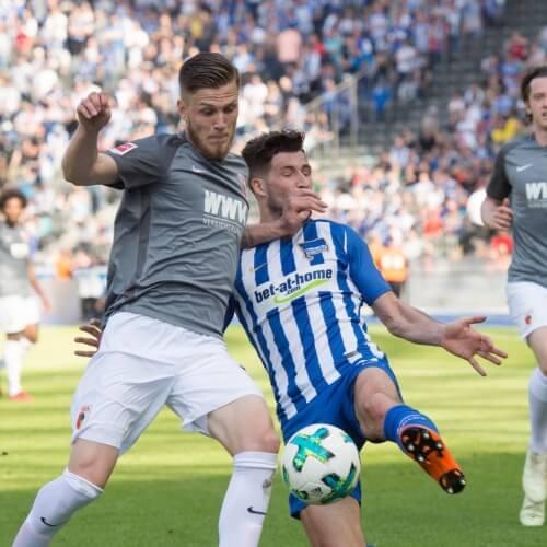 Augsburg draw with Hertha