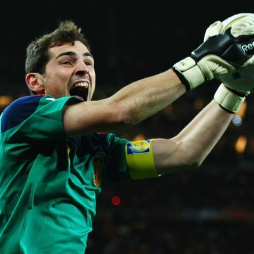 Iker Casillas' Golden Glove