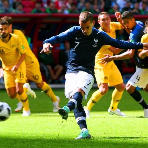 Atlético star Griezmann