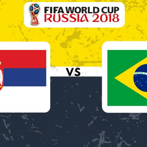 Serbia v Brazil