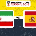 Iran v Spain