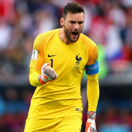 Goalkeeper Hugo Lloris
