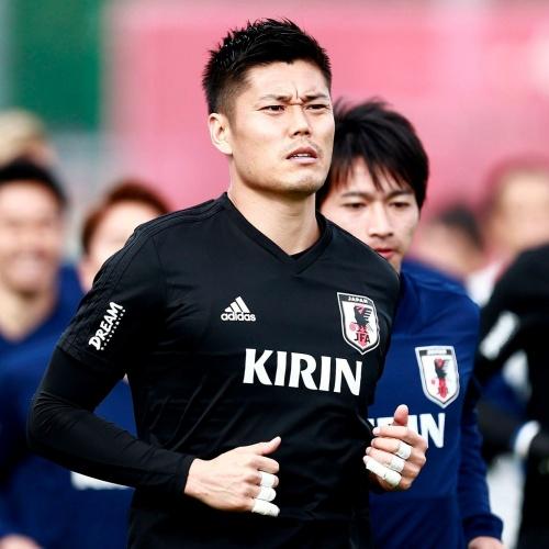 Japan's Goalkeeper Eiji Kawashima