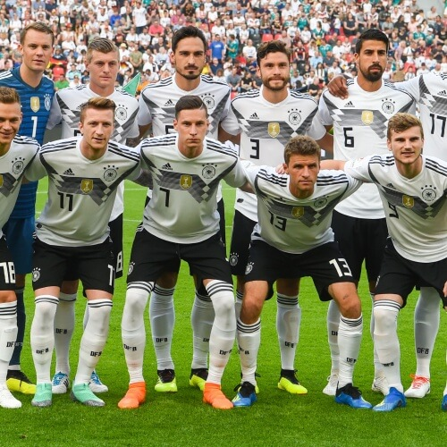 Star studded football squad