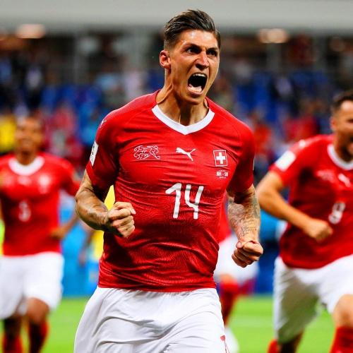 Swiss standout Steven Zuber