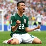 Mexico's Hirving Lozano