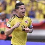 World cup player feature James Rodriguez