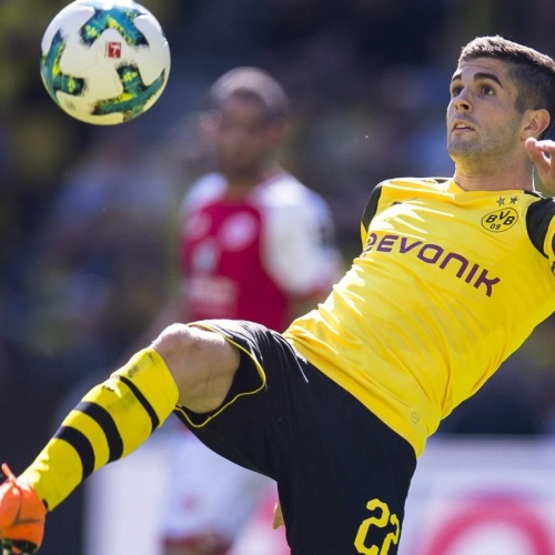 BVB's Christian Pulisic