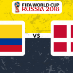 Colombia v England
