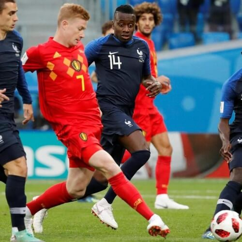 France v Belgium