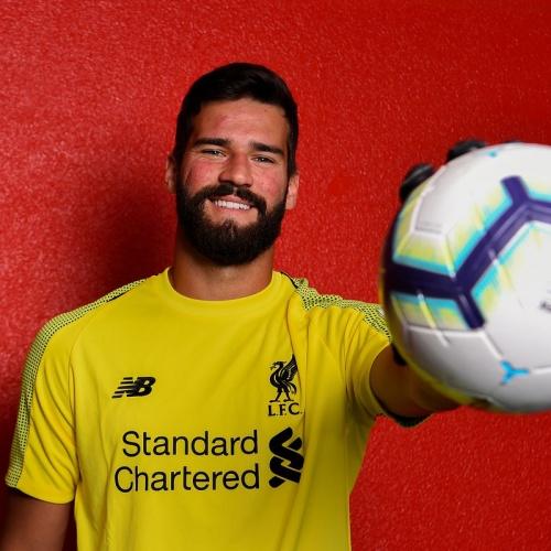 Liverpool's Alisson Becker